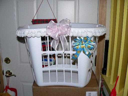 Make Baby Shower Wishing Well http://www.hunnyspot.com/baby_shower.htm
